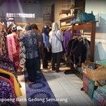Photo taken at Kampung Batik by Ibenk D. on 5/1/2013