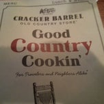 Photo taken at Cracker Barrel Old Country Store by Vince S. on 1/9/2013