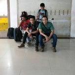 Photo taken at Bandara Syamsuddin Noor Airport by Hendra S. on 3/1/2014