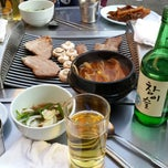 Photo taken at 미갈매기살 by Jiyoung P. on 5/16/2013