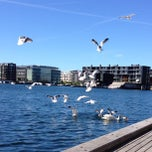 Photo taken at Sluseholmen Boardwalk by Stine F. on 6/10/2013