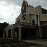 Photo taken at San Guillermo Parish Church by Nolan A. on 10/4/2012
