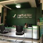 Photo taken at Jamsostek Office by Apit A. on 4/9/2013