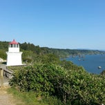 Photo taken at Trinidad Memorial Lighthouse by Kathy P. on 5/3/2013