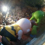 Photo taken at Macy's Parade Balloon Inflation 2012 by NYCphotos on 11/21/2012