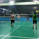 Photo taken at Grand Futsal Kuningan by Blue H. on 10/31/2012