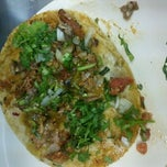 Photo taken at Tacos El Pastorcito by Daniel S. on 11/9/2012
