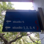 Photo taken at Studio 5 RCTI by ALfa B. on 12/1/2013