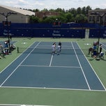 Photo taken at Ambler Tennis Stadium by Brian R. on 5/10/2013
