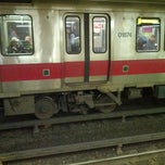 Photo taken at MBTA Red Line by Stephen S. on 10/20/2012