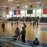 Photo taken at Spor Salonu by Tuba T. on 5/22/2013