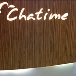 Photo taken at Chatime by Dian C. on 11/17/2012