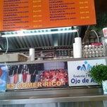 Photo taken at Loncheria Ojo De Agua by JOLUMO on 10/6/2012