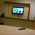 Photo taken at Hotel MJ by sitigaluhintan on 3/30/2013