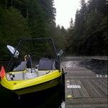 Photo taken at Merwin Lake by Neil M. on 9/20/2013