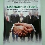 Photo taken at FAEMS - Federação das Associações Empresariais de MS by Stephanie R. on 8/30/2013