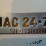 Photo taken at Mac 24/7 by Sylvia D. on 2/23/2013