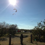 Photo taken at Kite Launch @ Sherman Island County Park by Adam B. on 8/5/2013