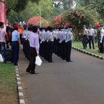 Photo taken at Sekolah Tinggi Penerbangan Indonesia by Yani Yudha W. on 10/14/2012