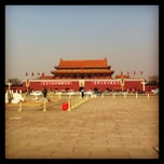 Photo taken at 天安门广场 Tian'anmen Square by Xavier B. on 1/26/2013