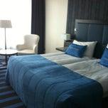 Photo taken at Van der Valk Hotel Sneek by Marian on 9/15/2012