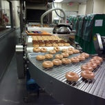 Photo taken at Krispy Kreme Doughnuts by Bill M. on 10/12/2012