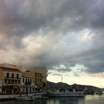 Photo taken at Port Of Crete by Ekaterina I. on 9/18/2012