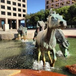 Photo taken at Mustangs of Las Colinas by Stacie K. on 11/23/2012