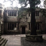 Photo taken at Skipton Castle by Gavin R. on 2/8/2014