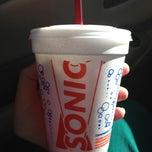 Photo taken at SONIC Drive In by Joplin P. on 3/26/2013