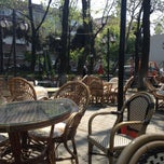 Photo taken at Hazal Cafe by Songul C. on 5/2/2013