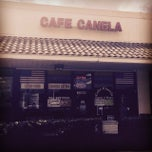 Photo taken at Cafe Canela by Joe F. on 3/4/2015
