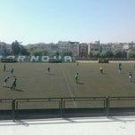 Photo taken at Bornova Stadı by Enver Y. on 9/30/2012