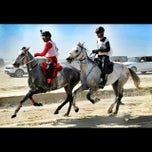 Photo taken at Equestrian Endurance Village by Hasan A. on 11/29/2013