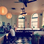 Photo taken at Cafe Gitane at The Jane Hotel by Bruna C. on 2/15/2013