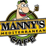 Photo taken at Manny's Mediterranean Cafe by Manny's Grills & Cafe's w. on 4/23/2014