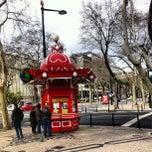 Photo taken at Avenida da Liberdade by Carolina K. on 2/18/2013