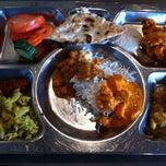 Photo taken at Saravanaa Bhavan by Thomas W. on 4/14/2013