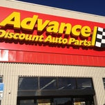 Photo taken at Advance Auto Parts by Andrew G. on 12/21/2012