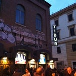 Photo taken at Cinema Tibur by Marina F. on 4/15/2012