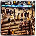 Photo taken at Rajiv Chowk Metro Station by Ulises C. on 10/18/2012