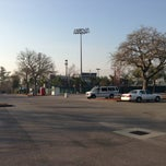 Photo taken at Rosen Parking Lot - Tulane University by Rob S. on 3/8/2013