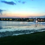 Photo taken at The Park at Josey Ranch Lake by Derek C. on 8/24/2013