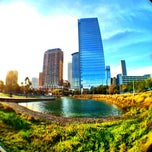Photo taken at Discovery Green by Leon C. on 2/3/2013