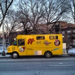 Photo taken at JJ's Hot Dog Truck by Matt V. on 1/7/2013