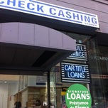 Photo taken at California Check Cashing Stores by Jeremy K. on 8/17/2013