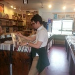 Photo taken at Aboveground Records by Esther T. on 8/31/2013