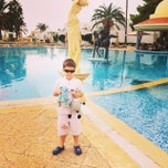 Photo taken at RIU Palace Hammamet Marhaba by Andrey V. on 10/12/2014