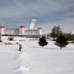 Photo taken at Bretton Woods Nordic Center by Kiteboard New England on 1/22/2015