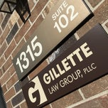 Photo taken at Gillette Law Group, PLLC by Brian G. on 5/22/2015